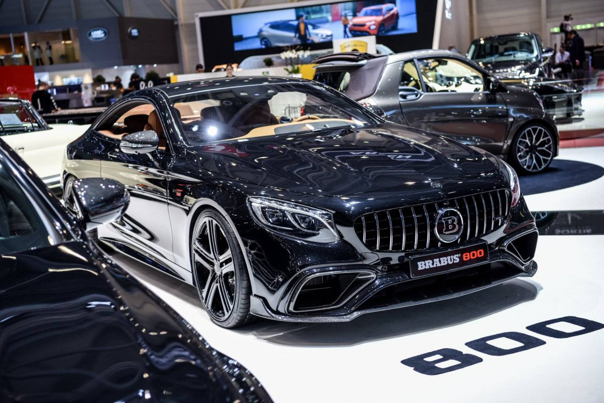 Facelifted Mercedes-AMG S63 coupe and sedan get the Brabus ...