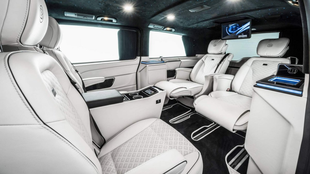 Brabus Business Plus Is A Mercedes Benz V Class Packed