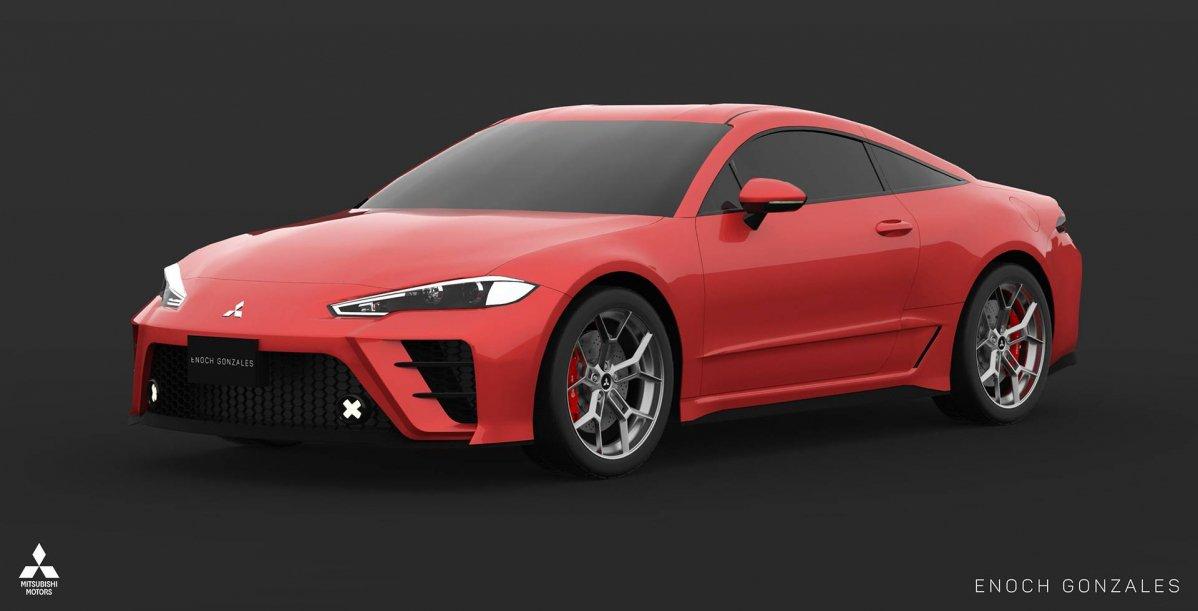 ... Next Generation Mitsubishi Eclipse Renderings 10 ...
