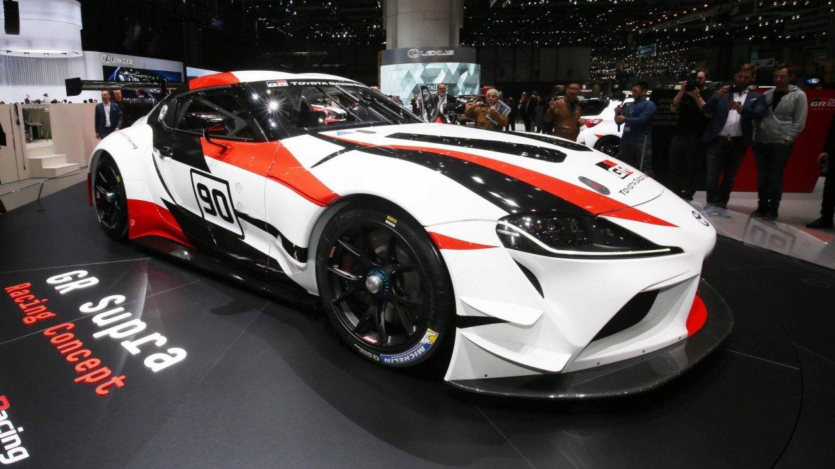 Toyota GR Supra Racing Concept previews production 2019 Supra