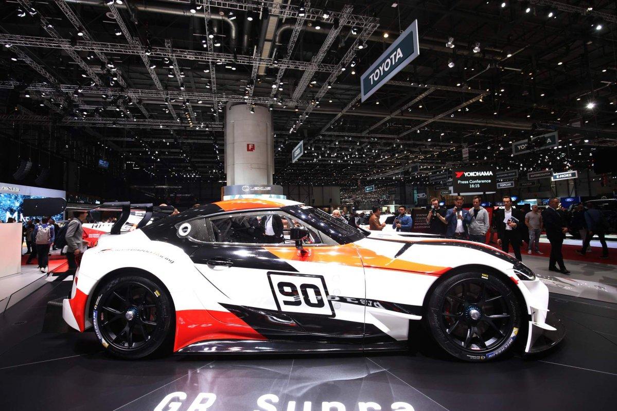 ... Toyota GR Supra Racing Concept At Geneva Motor  ...