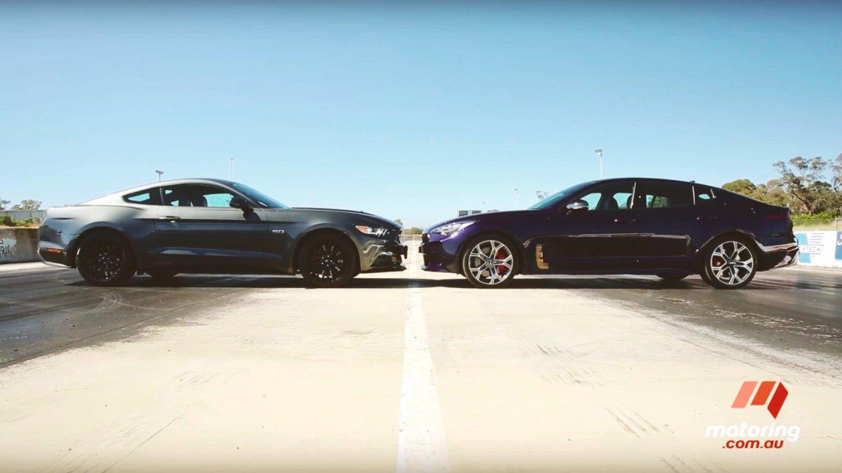 Ford Mustang Gt Vs Kia Stinger Gt