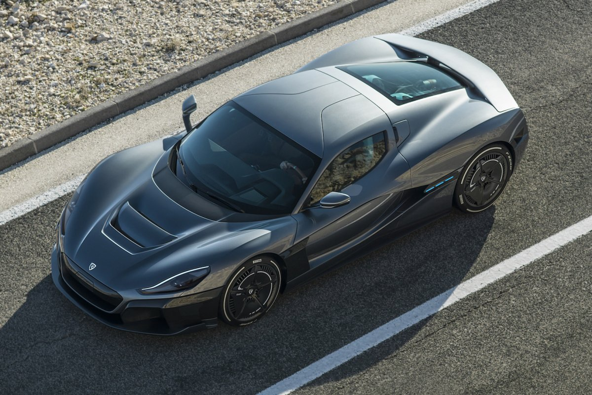 Rimac C_Two drops with 1,914 electrifying HP, enough ...