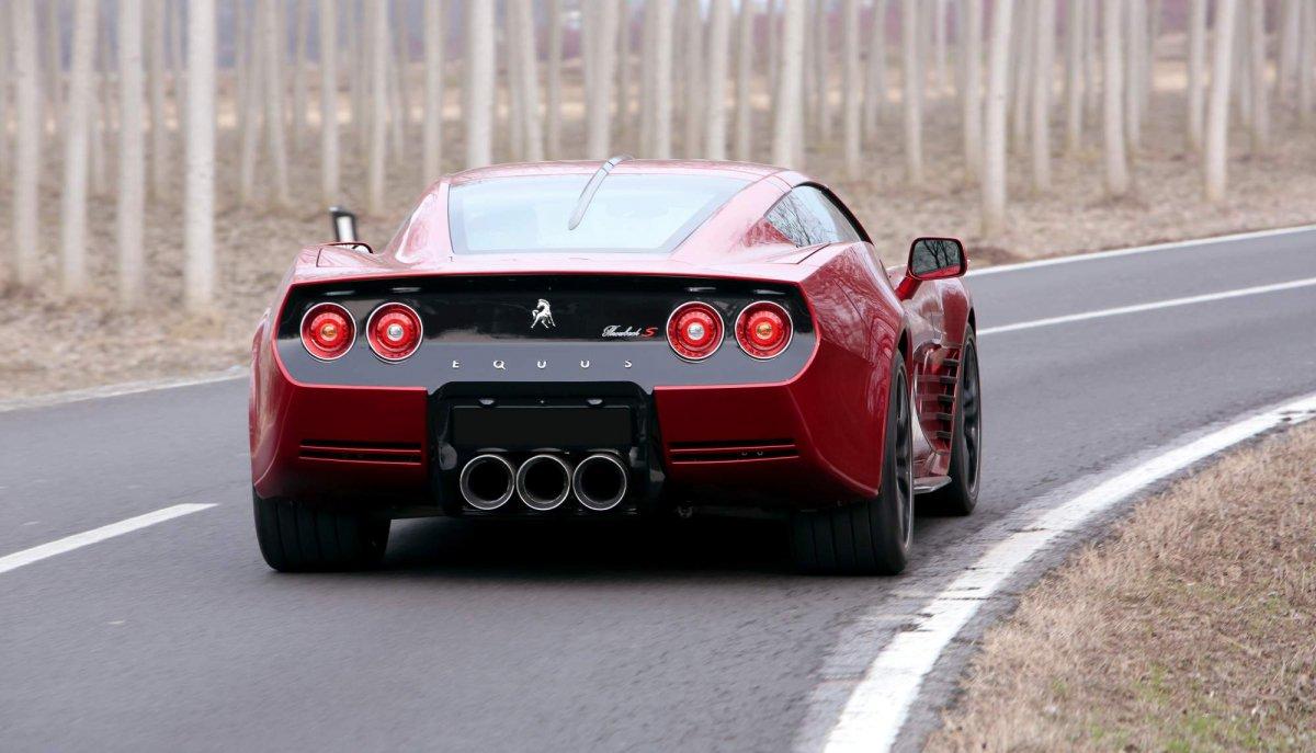 Equus Automotive unveils Corvette C7-based Throwback supercar with ...
