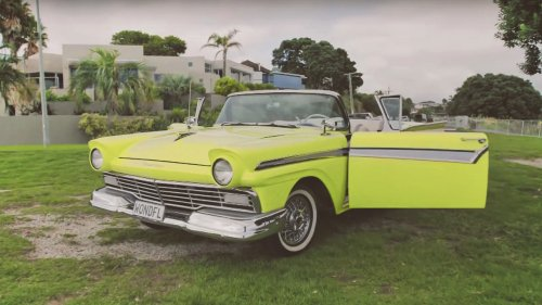 electric ford fairlane evie