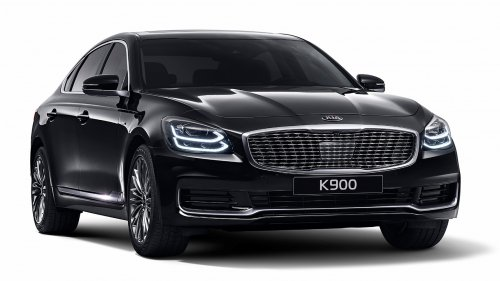 kia k900 sedan front