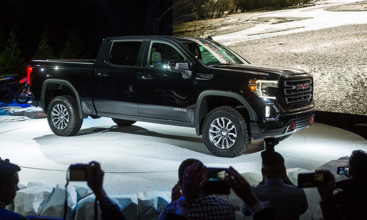 2019 Gmc Sierra At4 Off Road Pickup Truck Unveiled