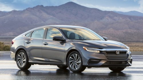 2019 honda insight hybrid front