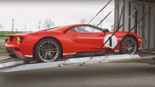 ford gt heritage edition hennessey performance