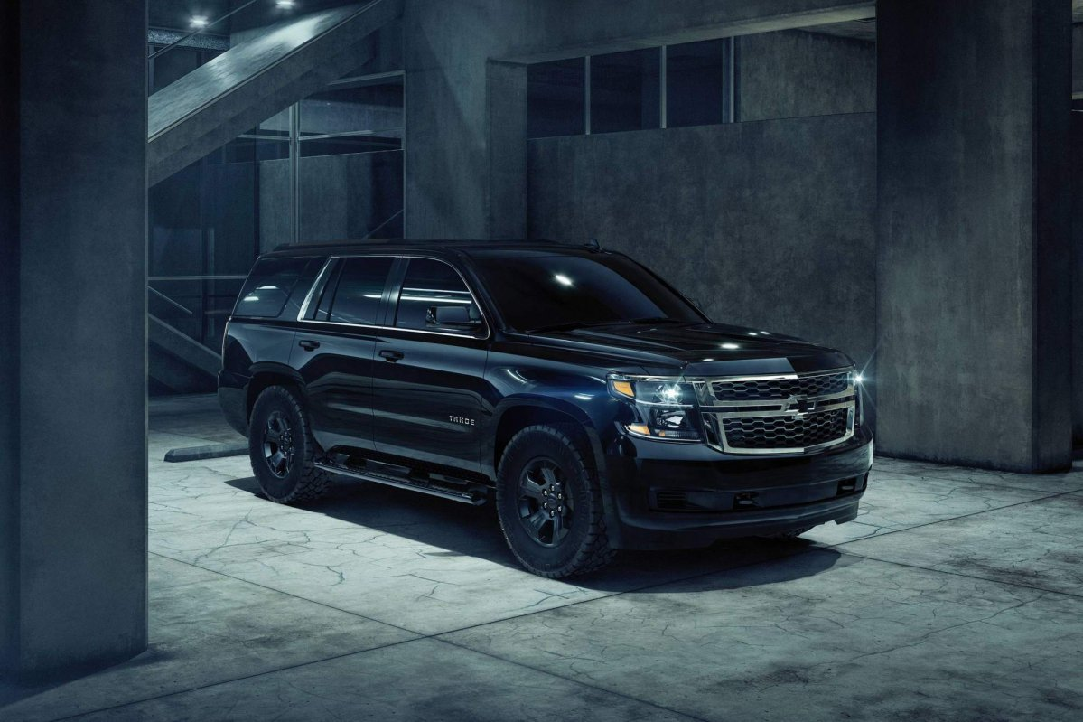 2018 Chevrolet Tahoe Custom Midnight Edition unveiled