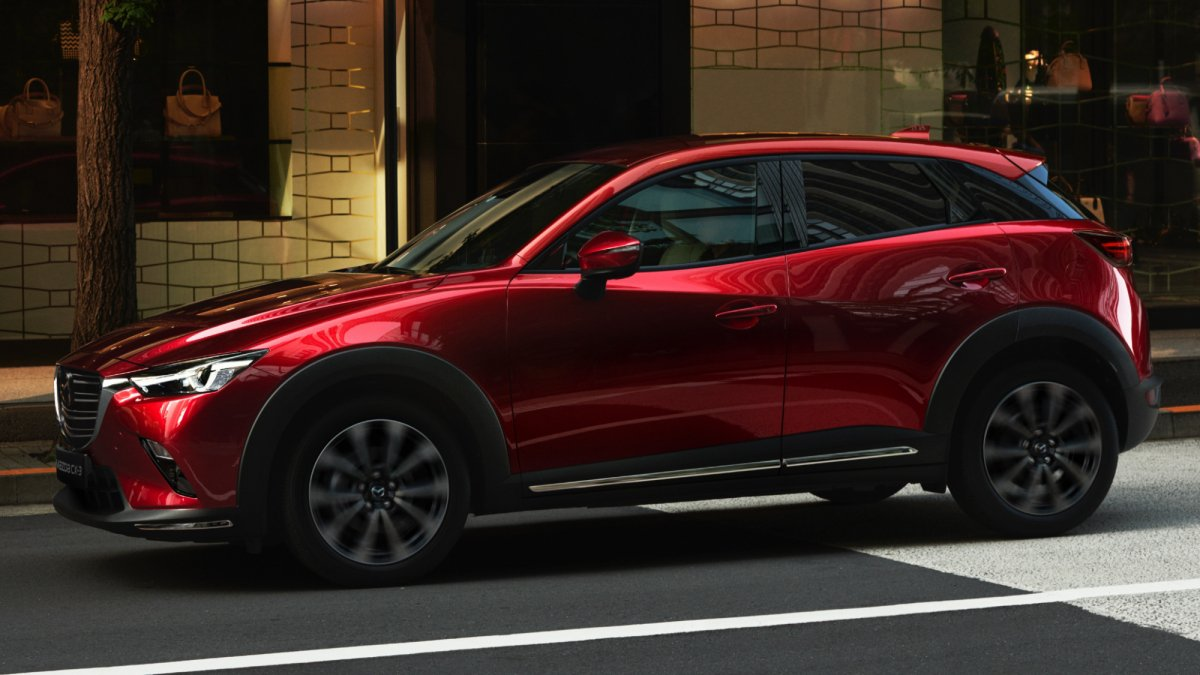 New York 2018 marks second facelift for the Mazda CX-3