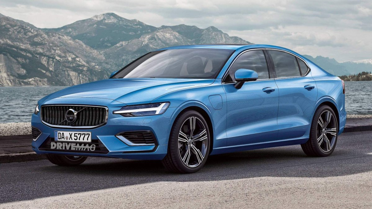 All New 2019 Volvo S60 Will Look Just Like This on car b pillar