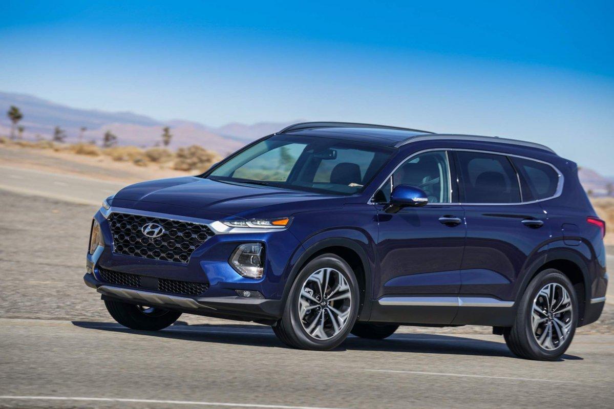All-new 2019 Hyundai Santa Fe has U.S. debut at NYIAS