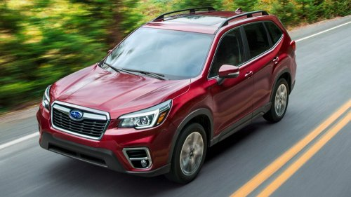 2019 Subaru Forester official picture