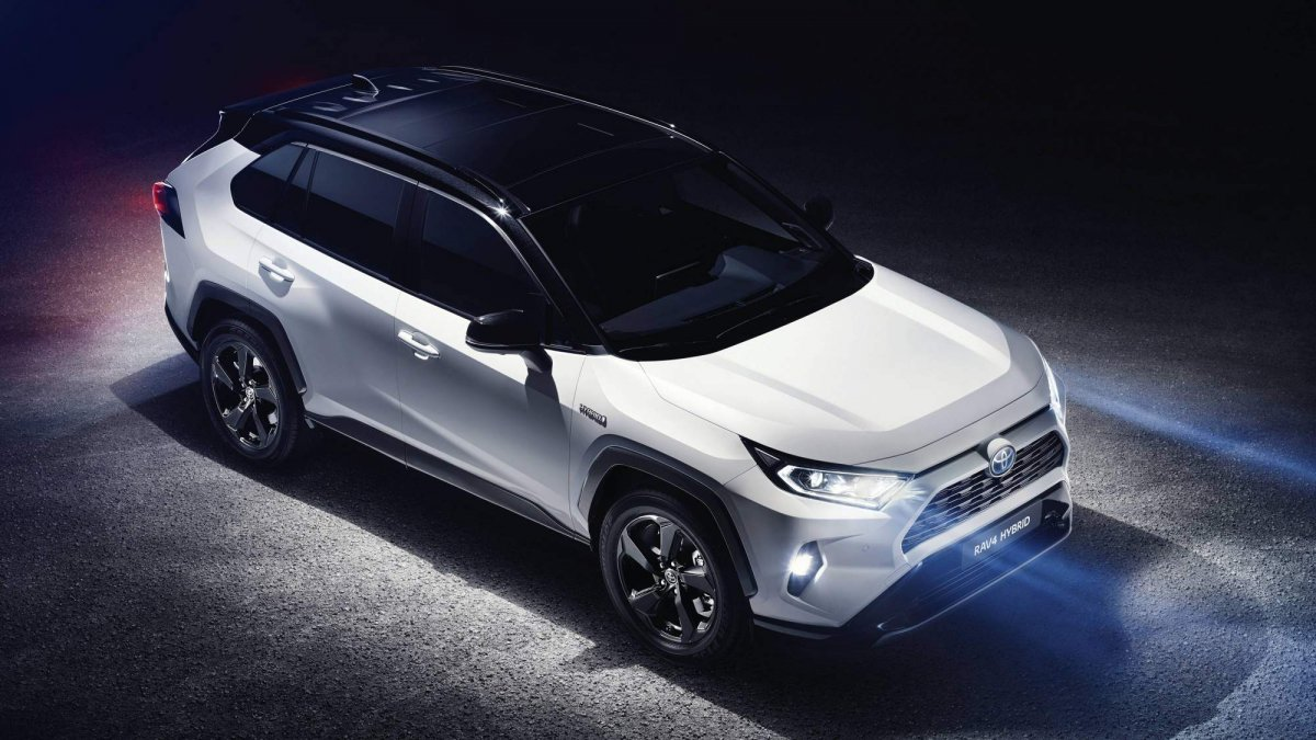 Toyota Shows All New 2019 Rav4 In European Specification