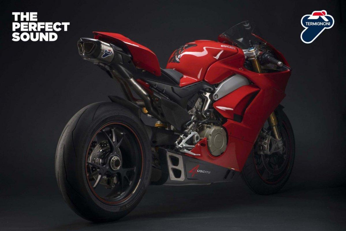 Termignoni Exhaust Ducati V