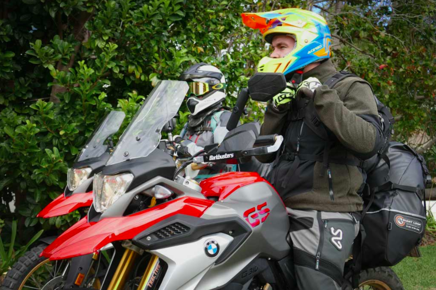 BMW G310GS gets an Adventure Kit. Breaking Bad on