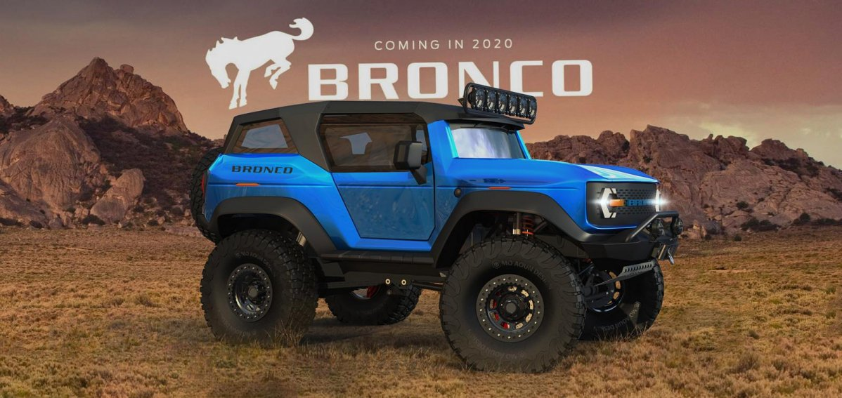 New Ford Bronco Release Date >> 2020 Ford Bronco imagined as a go-everywhere 4x4