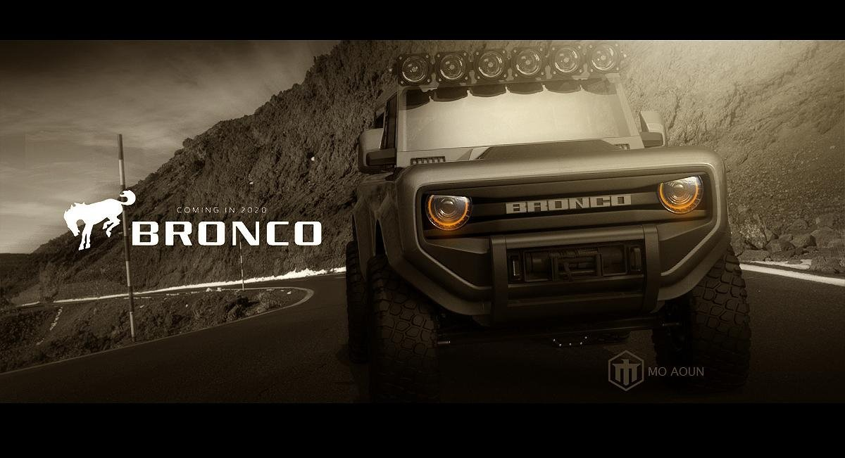 2020 Ford Bronco imagined as a go-everywhere 4x4