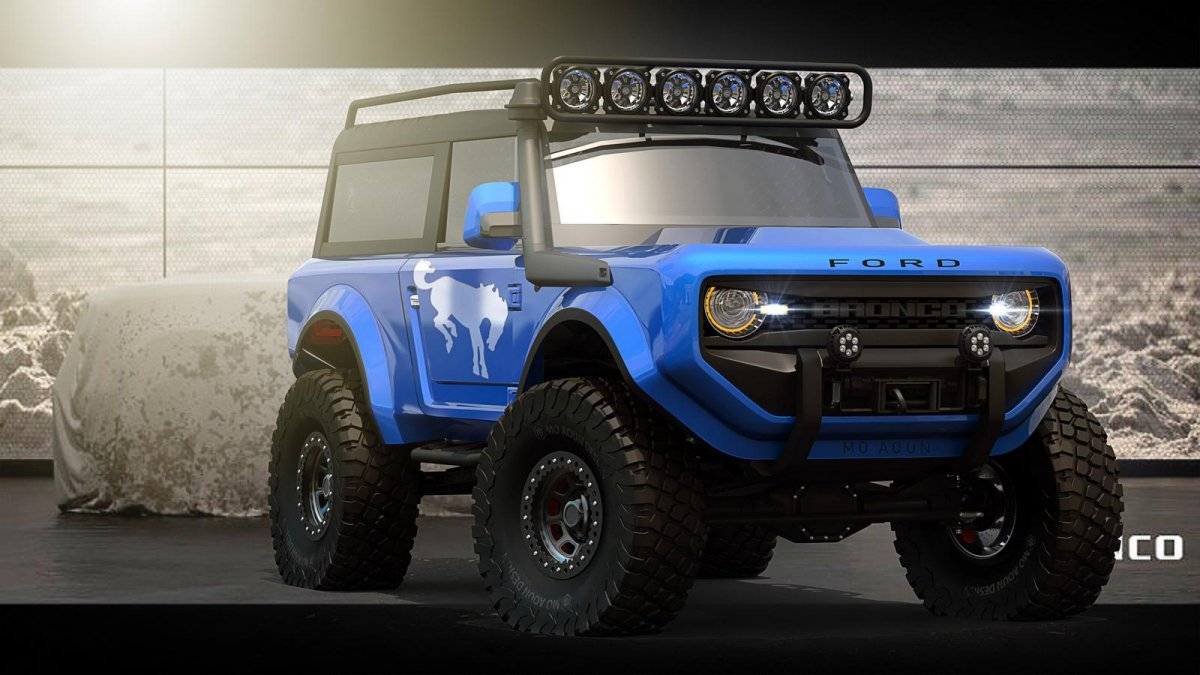 Ford Explorer Concept >> 2020 Ford Bronco imagined as a go-everywhere 4x4