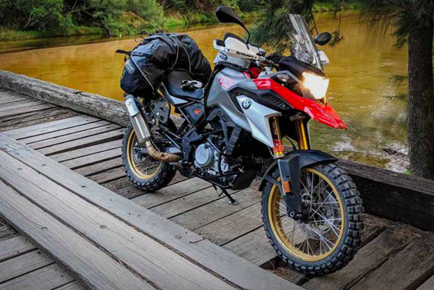 Bmw G310gs Gets An Adventure Kit Breaking Bad