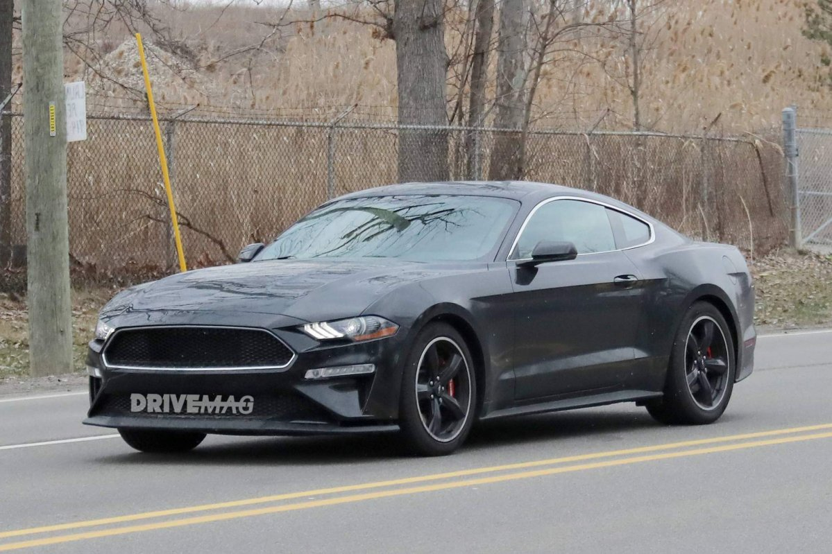 Check Out The First Photos Of The 2019 Ford Mustang
