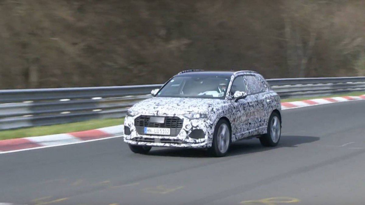 We Spy 2020 Audi Rs Q3 Going Hard On The Nurburgring Nordschleife