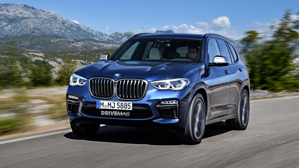new 2018 2019 bmw x5 rendered what the rumors are saying. Black Bedroom Furniture Sets. Home Design Ideas