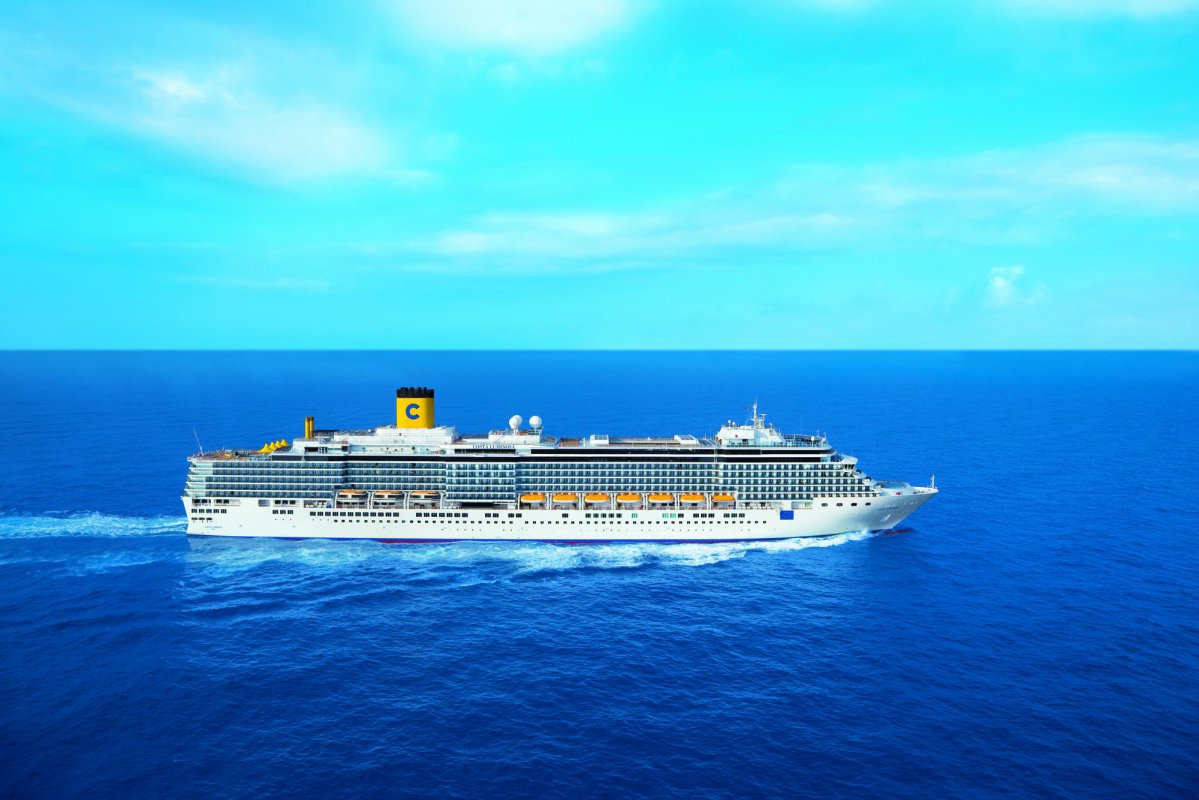 A New Livery For The Ships In The Costa Cruises Fleet