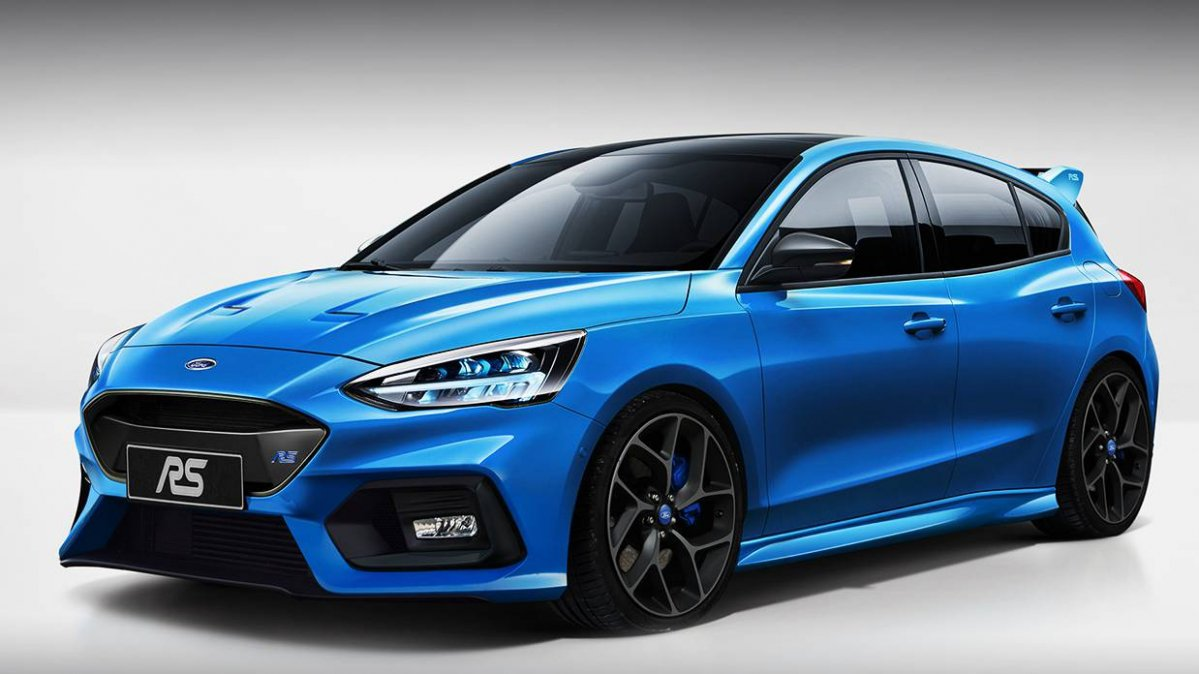 Someone Already Rendered The Upcoming Ford Focus St And