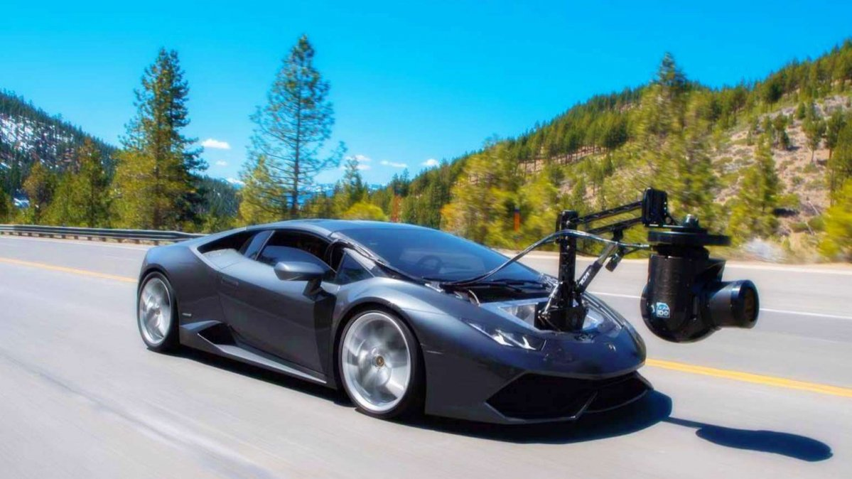 This Lambo Huracam Is The Fastest Camera On Wheels In