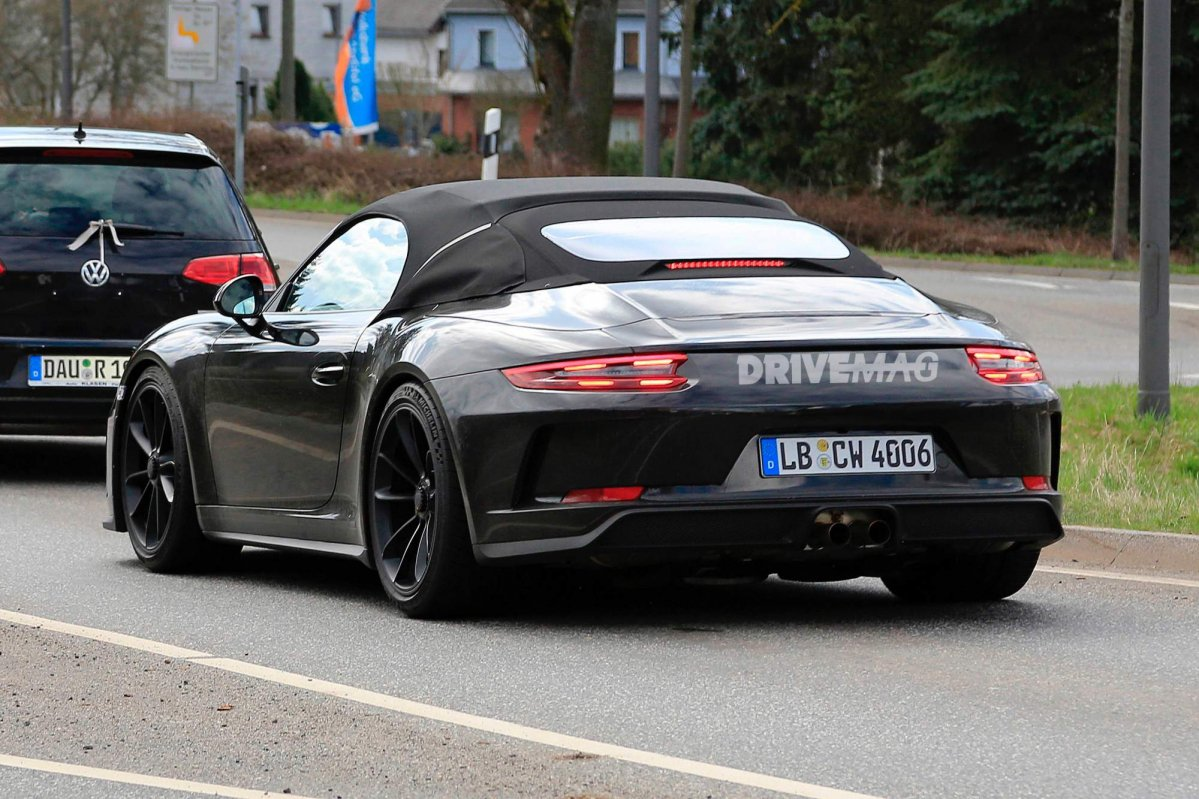 We Spy The Limited Edition 2019 Porsche 911 Speedster