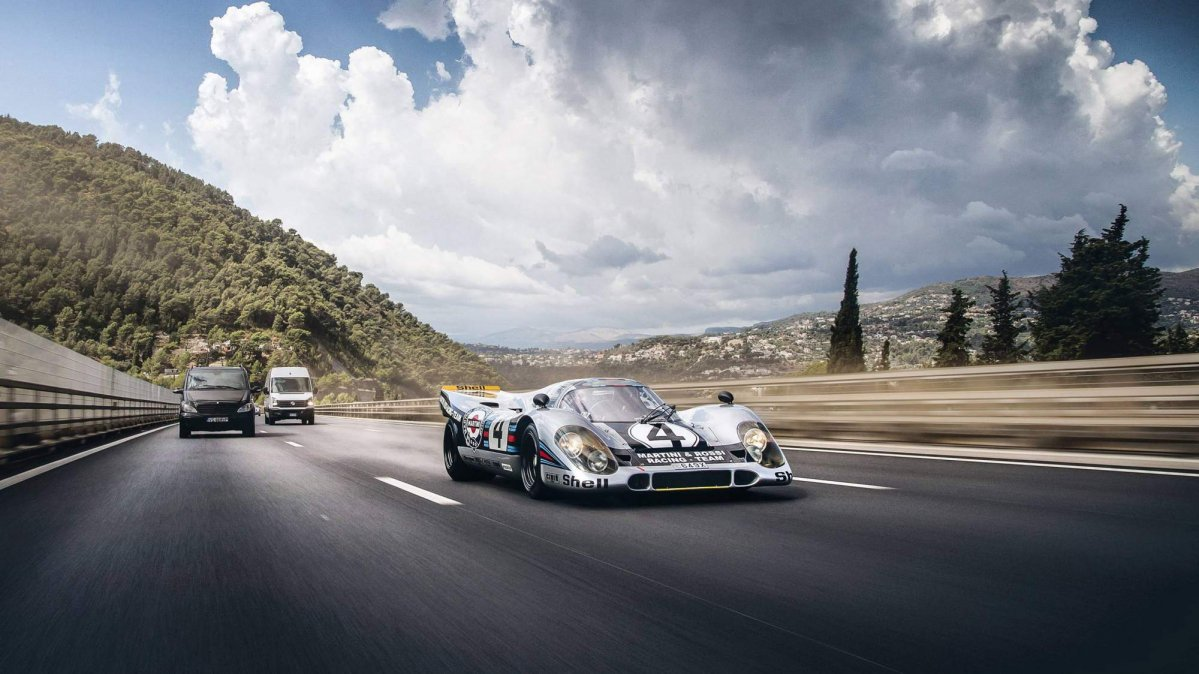 Porsche 917K race car owner registers it for use on the road
