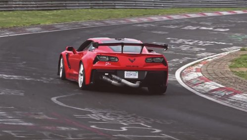 chevrolet corvette zr1 nurburgring