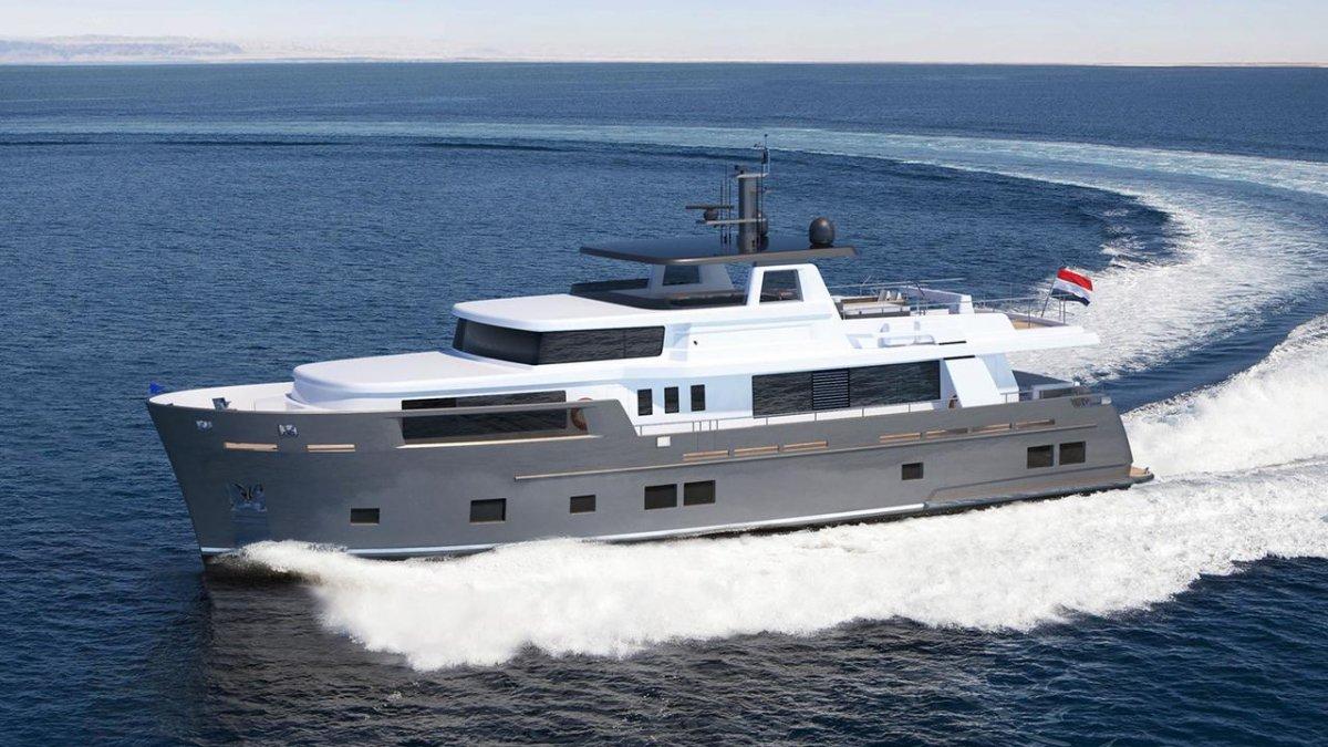 Drivemag boats us motorboats yachts superyachts mega ships van der valk explorer 2 fandeluxe Choice Image