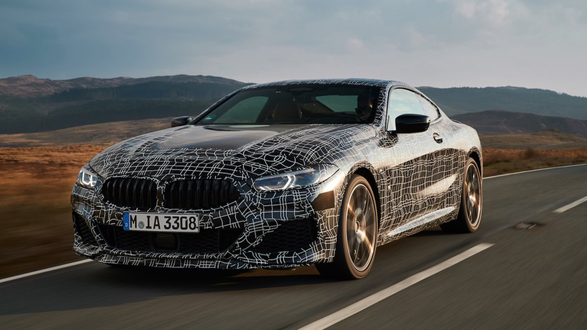 2018 bmw m850i xdrive coupe front
