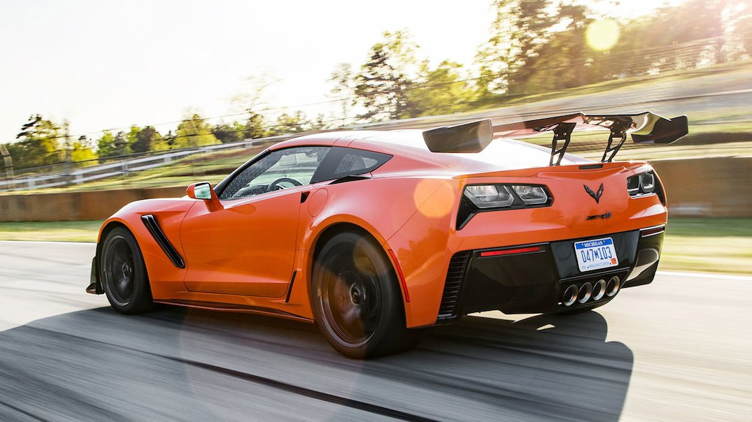 This is what the 2019 Chevrolet Corvette ZR1 sounds like