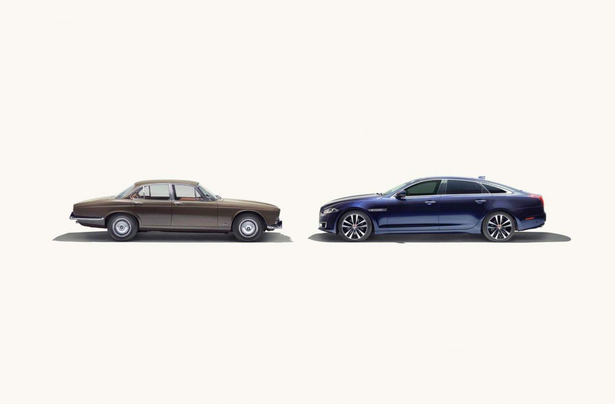 2019 Jaguar Xj50 And Its Predecessors 1