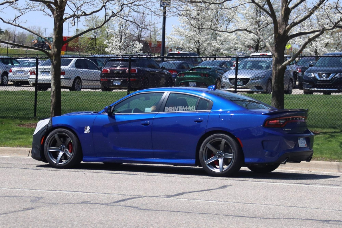 We spy the 2019 Dodge Charger Hellcat for the first time