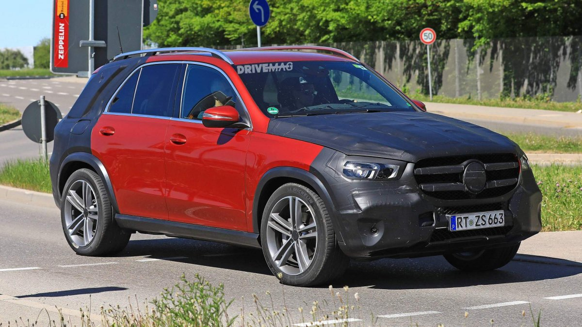 We Spy The All New 2019 Mercedes Benz Gle