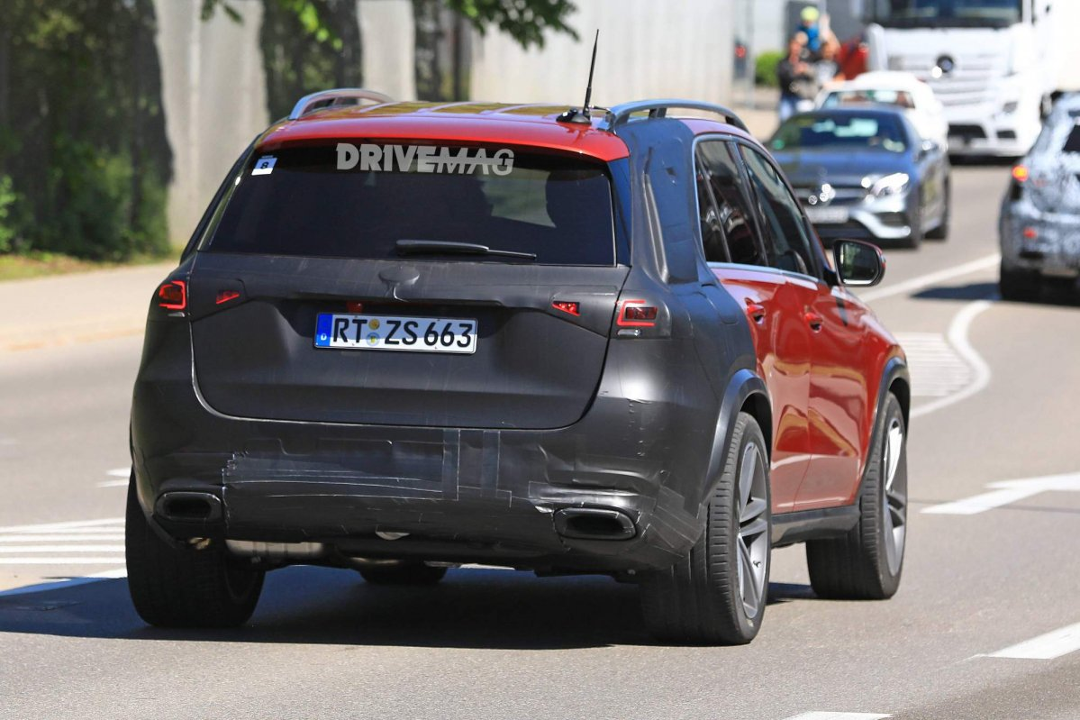 We spy the all new 2019 mercedes benz gle for Mercedes benz gle 2019