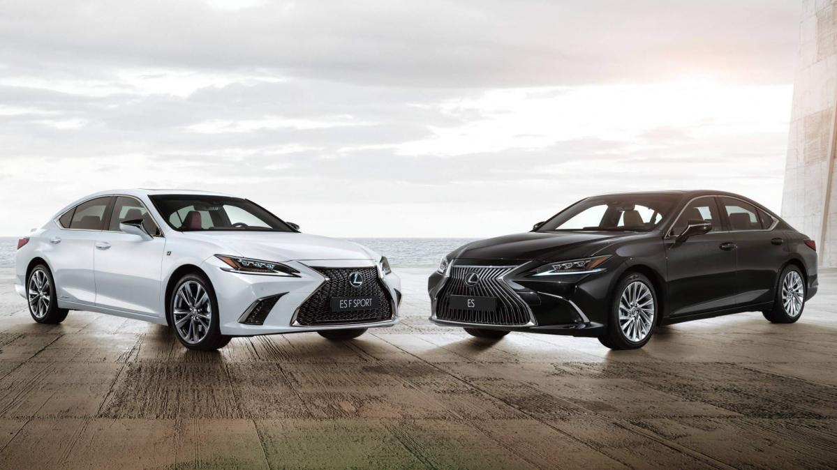 European Spec 2019 Lexus Es Gets Detailed