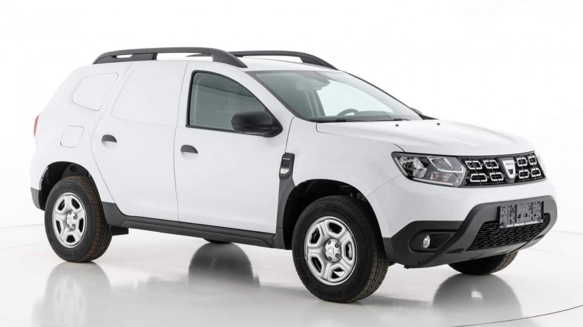 dacia duster fiskal light commercial vehicle debuts in austria. Black Bedroom Furniture Sets. Home Design Ideas