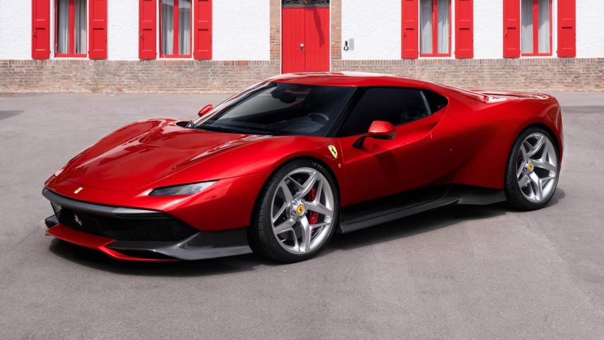 Bmw Bill Pay >> Ferrari unveils one-off SP38 bespoke supercar