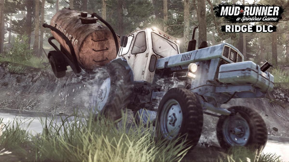 Mudrunner The Ridge DLC 1