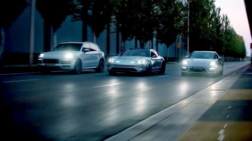 Porsche Mission E Performance