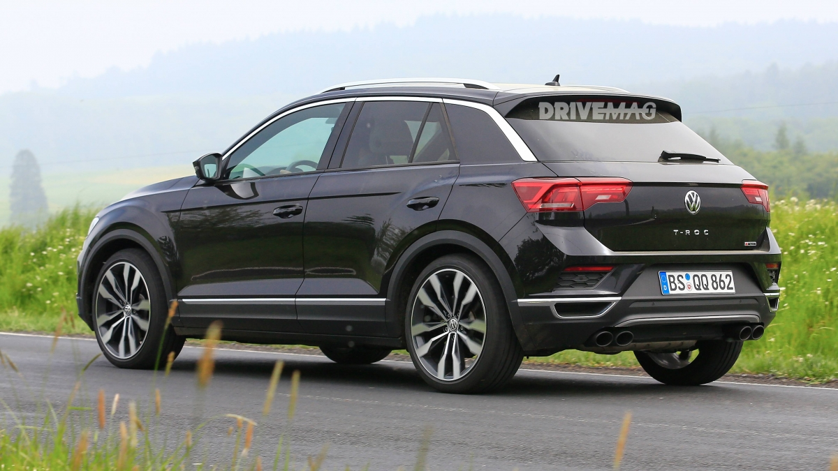 we spy the vw t roc r performance suv. Black Bedroom Furniture Sets. Home Design Ideas