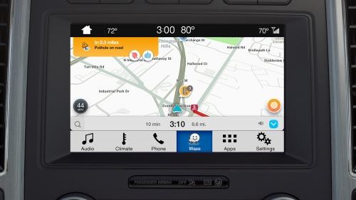 ford waze front