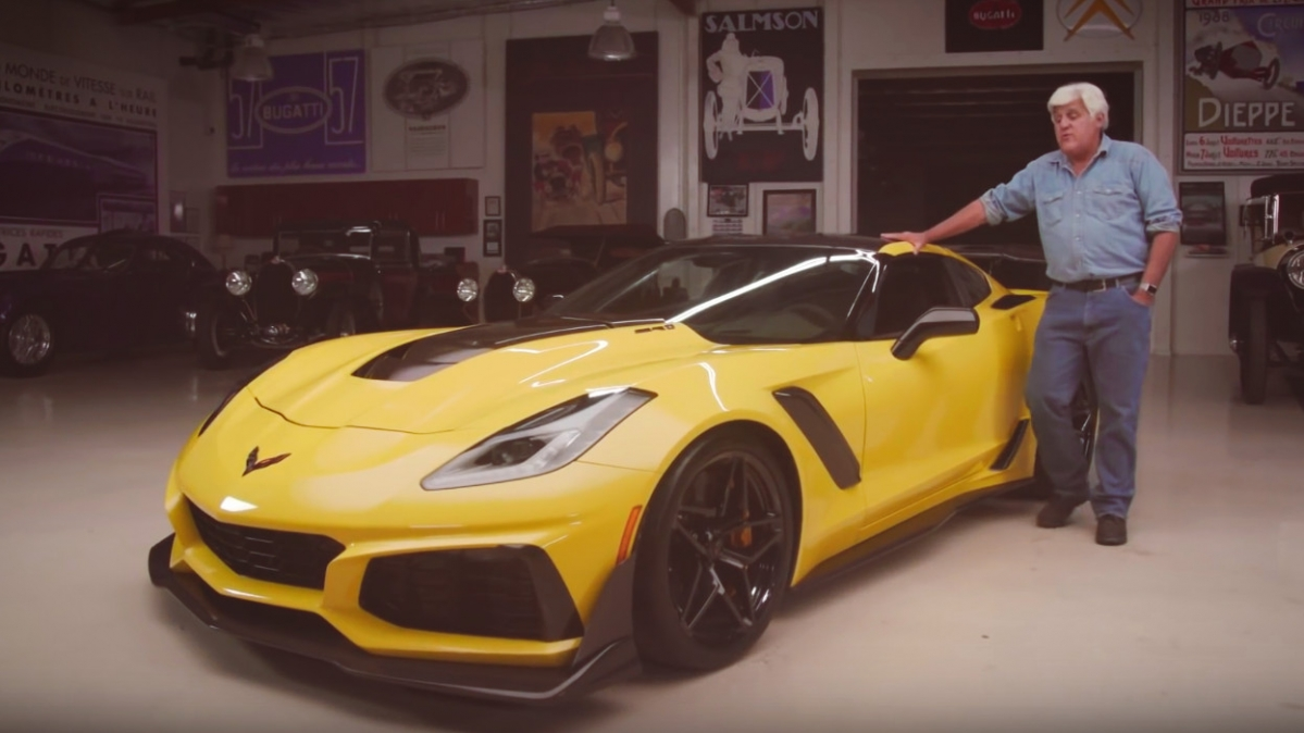 Jay Leno Dissects The 2019 Chevrolet Corvette Zr1