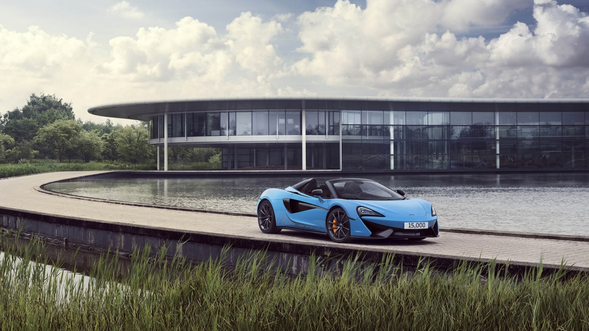 Mclaren Builds 15 000th Vehicle